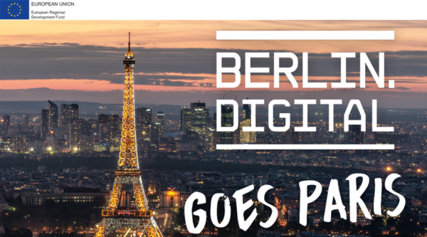 "berlin.digital goes Paris – Delegationsreise zum Thema ""künstliche Intelligenz"""