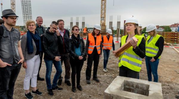 Baustelle eröffnet: Neues Informatik-Institut der Uni Potsdam