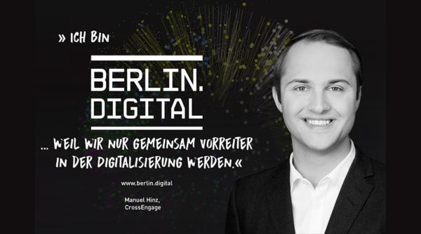 berlin.digital Interview mit Manuel Hinz, Gründer und CEO von CrossEngage