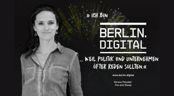 berlin.digital Interview mit Verena Pausder, CEO Fox & Sheep