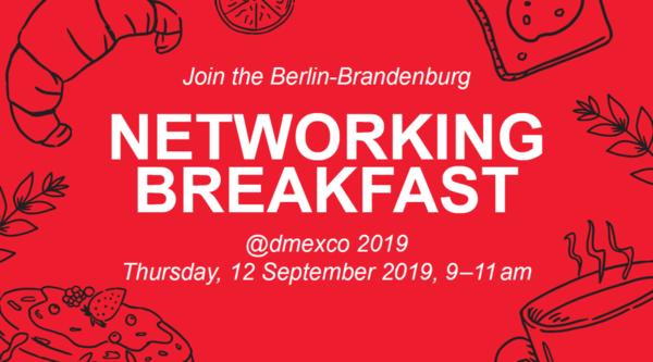Berlin-Brandenburg Frühstücksempfang bei berlin.digital @ dmexco 2019