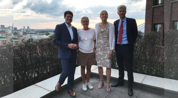 PoliTisch mit Björn Böhning, Staatssekretär im Bundesministerium für Arbeit und Soziales