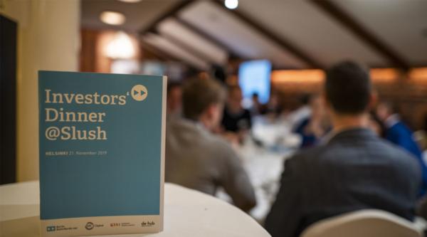 Investors' Dinner at Slush 2019