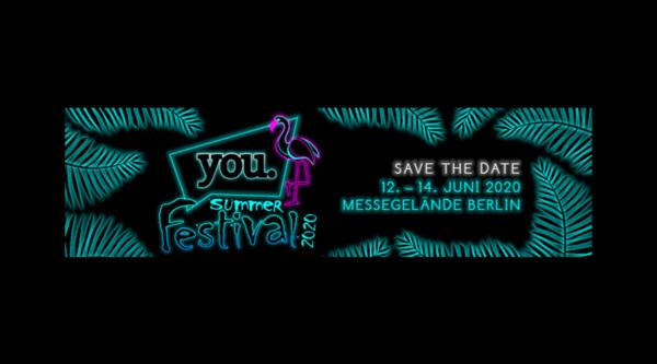 Medienkalender: YOU Summer Festival 2020