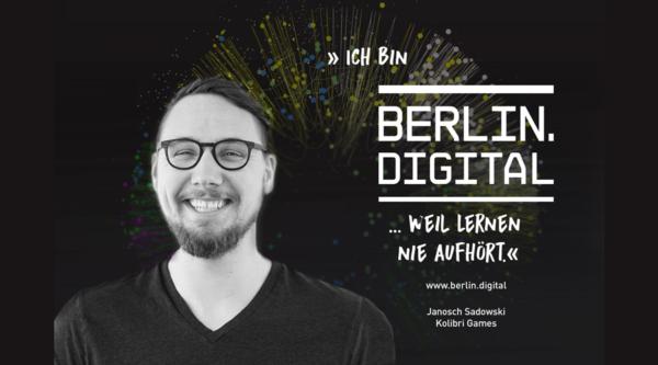 berlin.digital Interview mit Janosch Sadowski, Co-CEO und Mitgründer von Kolibri Games