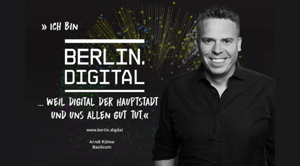 berlin.digital Interview mit Arndt Kühne, CEO Basilicom