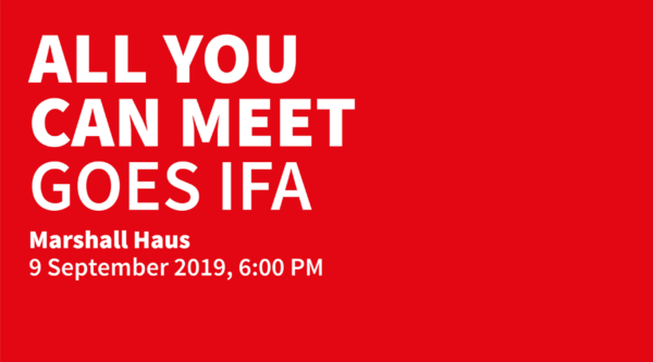 media:net COOP: All You Can Meet goes IFA 2019