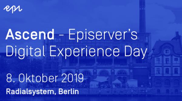 media:net COOP: Ascend Berlin – Episerver's Digital Experience Day