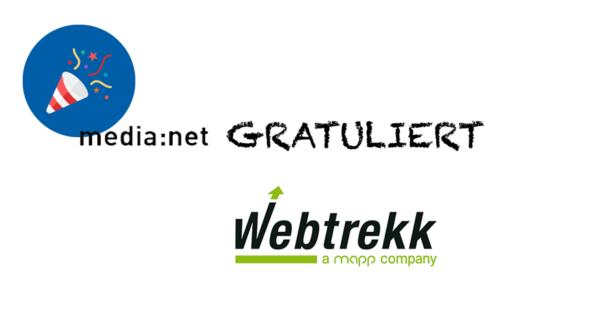 media:net GRATULIERT: 15 Jahre Webtrekk!