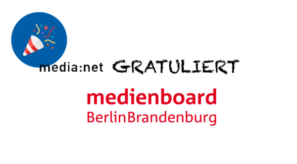 media:net GRATULIERT: 15 Jahre Medienboard!