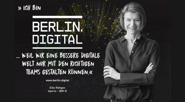 berlin.digital Interview mit Elke Röttgen, COO von Aperto – IBM iX
