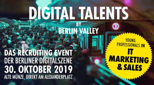 berlin.digital COOP: Digital Talents 2019