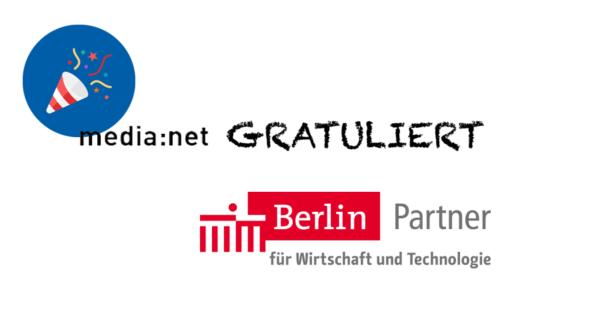 media:net GRATULIERT: 25 Jahre Berlin Partner