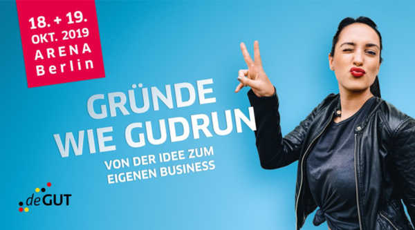 media:net COOP: Deutsche Gründer- und Unternehmertage (deGUT) 2019 | media:net berlinbrandenburg e.V.