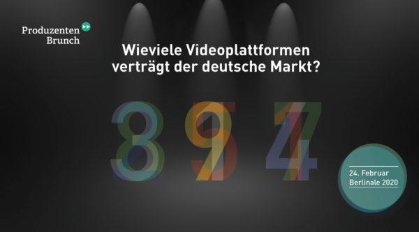 Produzentenbrunch: Wieviele Videoplattformen verträgt der deutsche Markt?