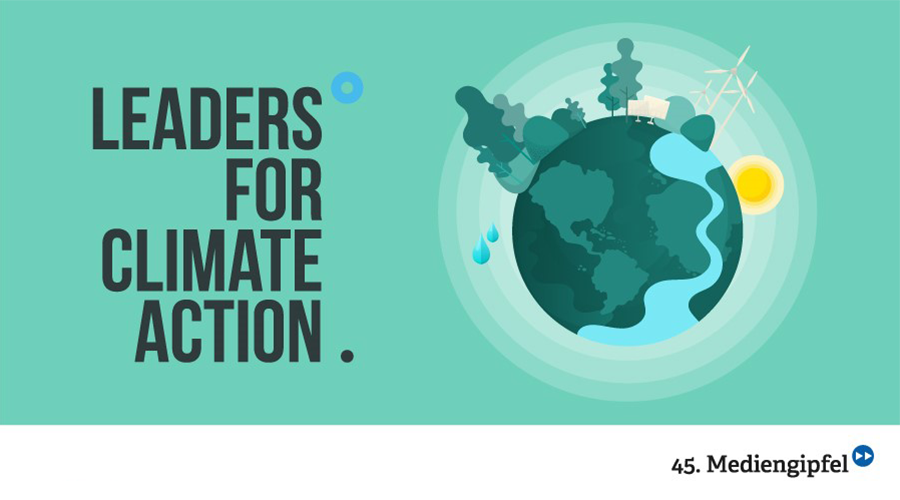 45. Mediengipfel: Leaders for Climate Action – Der Trailer