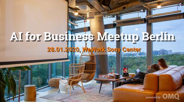 Medienkalender: AI for Business Meetup Berlin No. 3