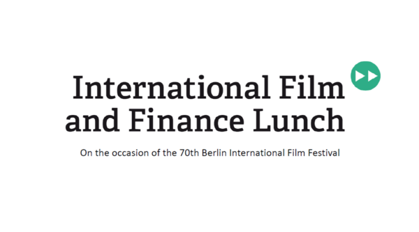 SAVE THE DATE: Film & Finance Lunch 2020