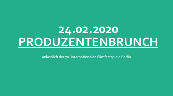 SAVE THE DATE: Produzentenbrunch 2020
