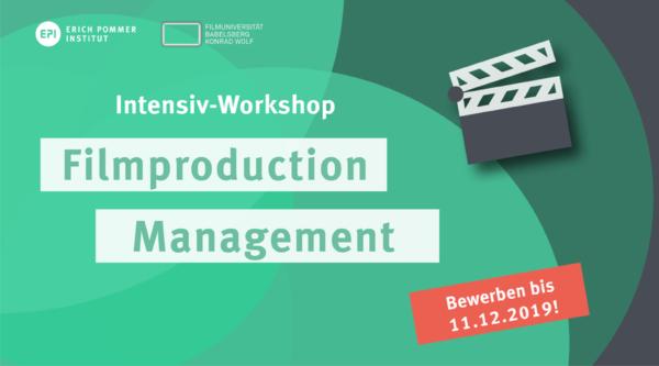 media:net COOP: Intensiv-Workshop Filmproduction Management