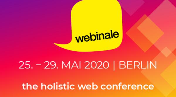 media:net COOP: webinale – the holistic web conference 2020