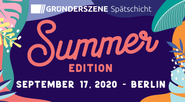 startup:net COOP: Gründerszene Spätschicht – Summer Edition