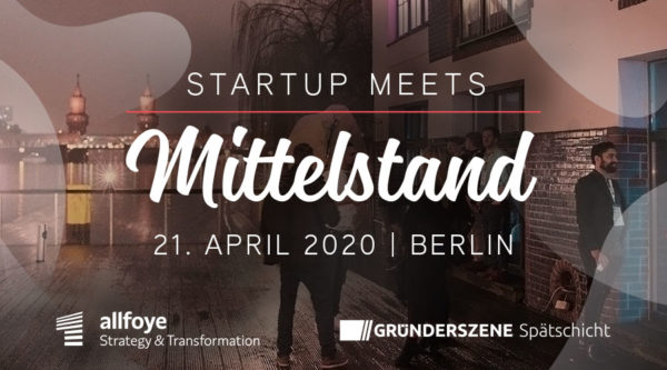 startup:net COOP: Startup meets Mittelstand