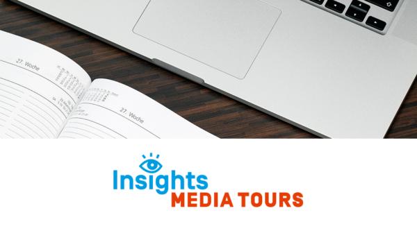 Medienkalender: Media Tour mit Autor Robert Pimm am Reichstag