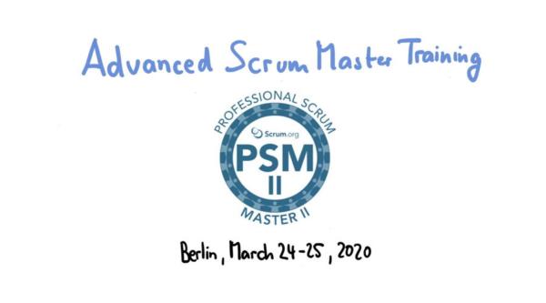berlin.digital COOP: Professional Scrum Master Schulung PSM II