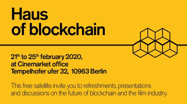 Medienkalender: Haus of Blockchain