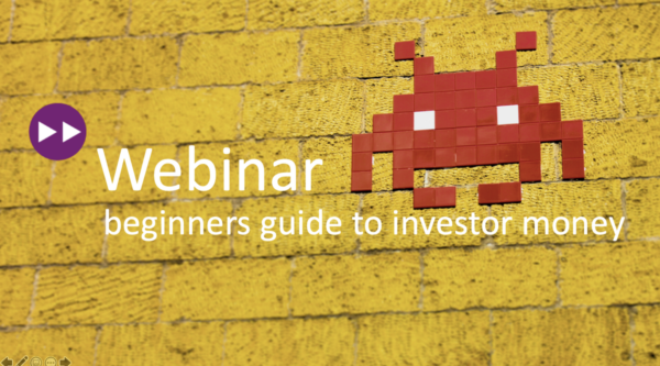 games:net webinar: Beginners guide to investor money