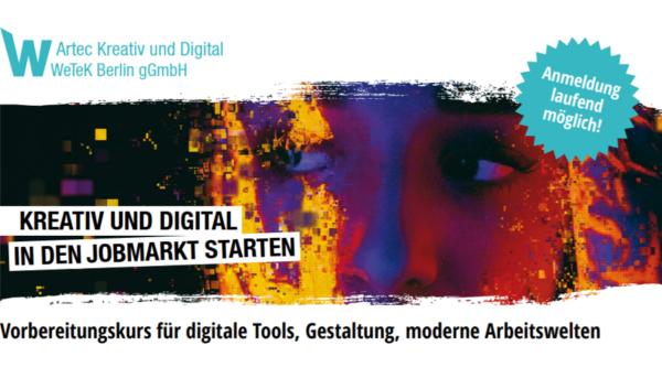 Medienkalender: artec – Vorbereitungskurs für digitale Tools, Gestaltung, moderne Arbeitswelten