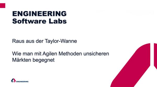 berlin.digital COOP: Raus aus der Taylor-Wanne – wie man mit Agilen Methoden unsicheren Märkten begegnet