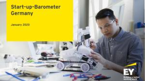 EY Startup Barometer Deutschland Januar 2020