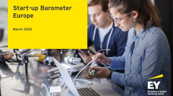 EY Startup Barometer Europe März 2020