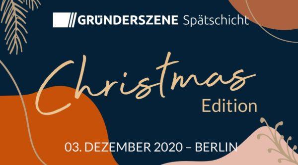 startup:net COOP: Gründerszene Spätschicht Berlin – Christmas Edition