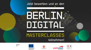 Berlin Masterclasses bei der OMR im November 2020