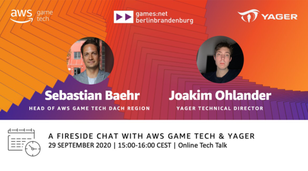 games:net: A Fireside Chat with AWS Game Tech & YAGER