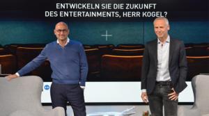 """46. Mediengipfel: """"Entwickeln Sie die Zukunft des Entertainments, Herr Kogel?"""" – Der Trailer"""