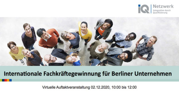 Eventkalender: Internationale Fachkräftegewinnung für Berliner Unternehmen