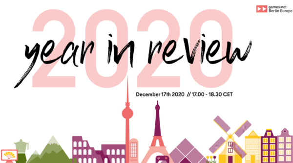 "games:net Berlin Europe: ""2020 – Year in Review"" Online Panel"