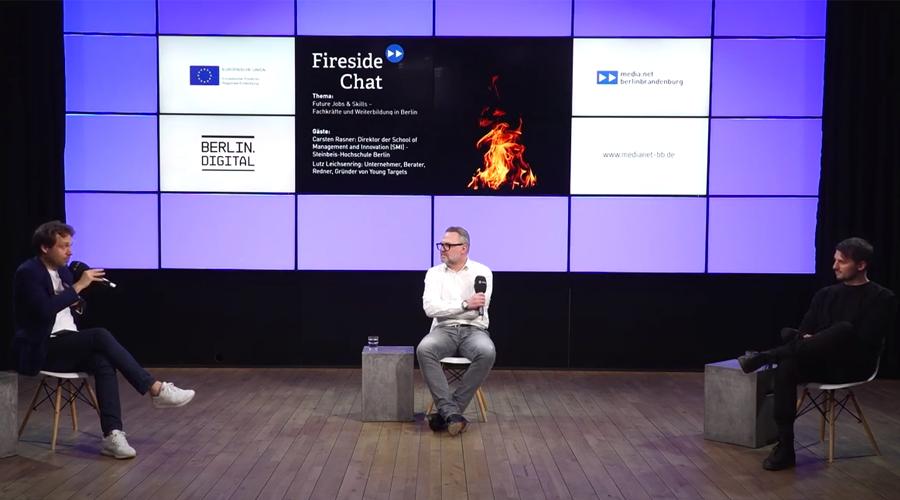 media:net Fireside Chat: Future Jobs & Skills – Fachkräfte und Weiterbildung in Berlin