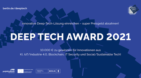 berlin.digital COOP: Deep Tech Award 2021