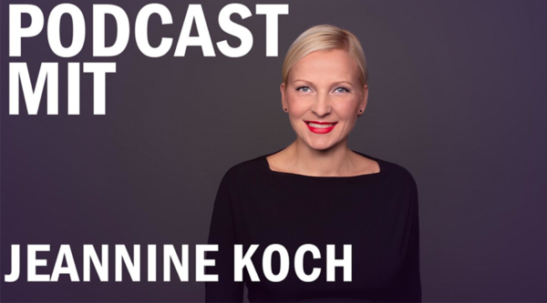 Unsere CEO Jeannine Koch im Comecon-Podcast