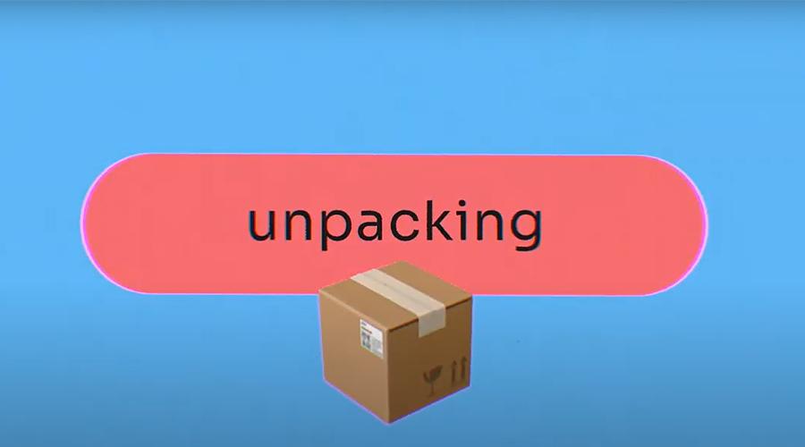 E-Commerce | unpacking