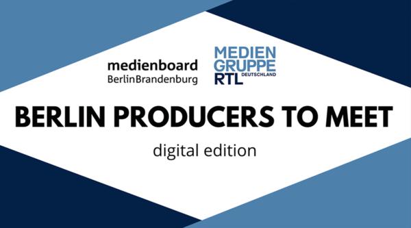 """BERLIN PRODUCERS TO MEET – digital edition"""