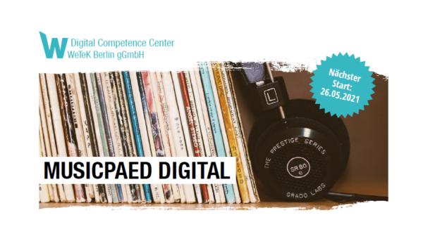 Eventkalender: musicpaed DIGITAL – Vermittlung von Musik im digitalen Raum