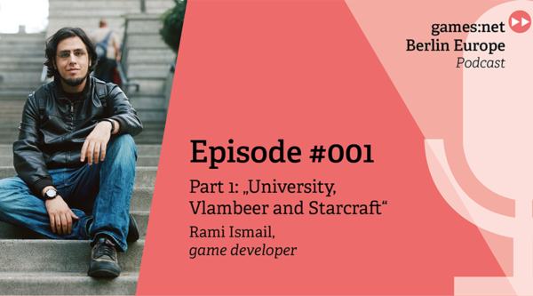 games:net Berlin Europe Podcast – Rami Ismail