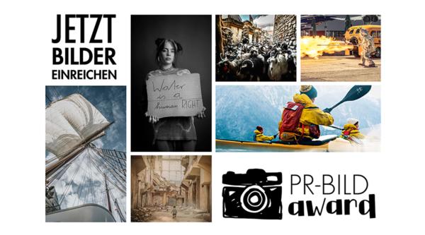 Jetzt für PR-Bild Award 2021 bewerben!