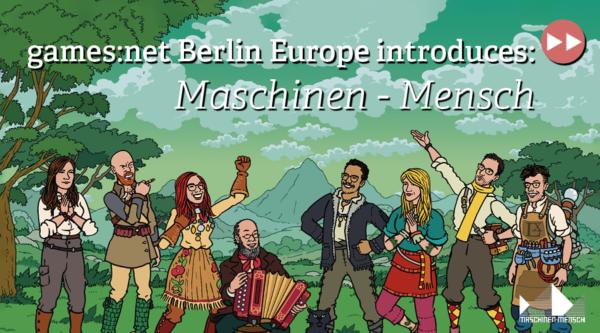 games:net Berlin Europe: Maschinen-Mensch
